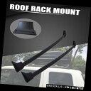 カーゴ ルーフ キャリア 2016-2018ホンダパイロットブラックルーフラッククロスバー荷物貨物運搬車用 Fit For 2016-2018 Honda Pilot Black Roof Rack Cross Bars Luggage Cargo Carrier