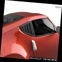 ウィンドウルーバー Vicrez LVポリウレタンウィンドウサイドルーバーvz100940にフィット日産370z 2009-2018 Vicrez LV Polyurethane Window Side Louvers vz100940 Fits Nissan 370z 2009-2018