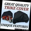 トライク カバー トライクオートバイのカバーモータートライクハーレーダビッドソン n Trog本当に重い義務 Trike Motorcycle Cover Mot..