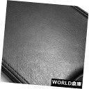 コンソールボックス アームレストセンターコンソールのふたのためのPVCレザーキットカバーグランプリ04-08ブラック PVC Leather Kit Cover for Armrest Center Console Lid Fits Grand Prix 04-08 Black