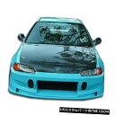 Spoiler 92-95ホンダシビックバディオーバーストックフロントボディキットバンパー!!! 101114 92-95 Honda Civic Buddy Overstock Front Body Kit Bumper!!! 101114