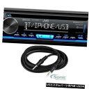 In-Dash JVC KD-TD70BT BluetoothステレオCDプレーヤーカーダッシュボードレシーバー+ 3.5mm AUXケーブル JVC KD-TD70BT Bluetooth Stereo CD Player Car In-Dash Receiver+ 3.5mm AUX Cable