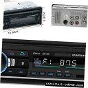 In-Dash カーBluetoothラジオMP3プレーヤーステレオUSB / AUXインダッシュFMレシーバーリモコン Car Bluetooth Radio MP3 Player Stereo USB/AUX In-Dash FM Receiver Remote Control