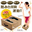【どこでもエクササイズ フミッパー】効率的な有酸素運動ができる踏み台昇降運動器具!●2月下旬出荷