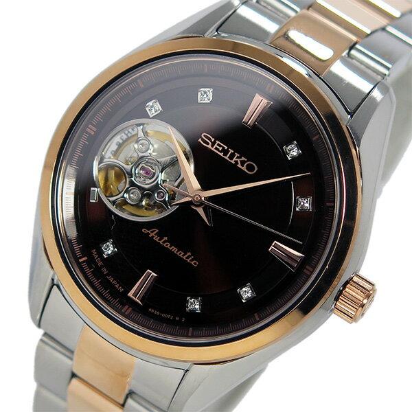 【日本製 逆輸入SEIKO】セイコー SEIKO プレサージュ 自動巻き メンズ 腕時計 SSA864J1 ブラウン 【3年保証】セイコー SEIKO プレサージュ 自動巻き メンズ 腕時計 SSA864J1 ブラウンカシオ 腕時計 スポーツ