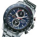 【3年保証】セイコー SEIKO クオーツ ソーラー クロノ メンズ 腕時計 SSC355P1 ネイビー