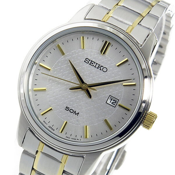 【逆輸入SEIKO】セイコー SEIKO クオーツ レディース 腕時計 SUR745P1 シルバー 【3年保証】セイコー SEIKO クオーツ レディース 腕時計 SUR745P1 シルバー