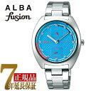 【正規品】セイコー アルバ フュージョン SEIKO ALBA fusion 90'fashion クォーツ ユニセックス 腕時計 AFSK402