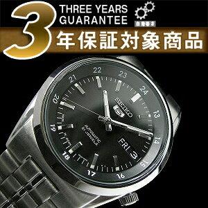 セイコー セイコー5 SEIKO5 セイコーファイブ 日本製 メンズ 腕時計 SNK567J 逆輸入セイコー 自動巻き メカニカル 機械式 ブラック メタルベルト SNK567J1 SNK567JC 3年保証 メンズ 腕時計 男性用 seiko5 日本未発売 ビジネス【楽ギフ_包装】