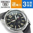 【動画あり】【3年保証】【送料無料】SSA297K1 逆輸入 セイコーファイブスポーツ セイコー5スポーツ メンズ 自動巻き機械式 腕時計