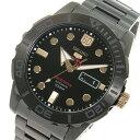 セイコー SEIKO セイコーファイブ スポーツ 60周年記念モデル 自動巻き メンズ 腕時計 SRPA33K1 ブラック