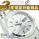 【逆輸入SEIKO5】セイコー5 メンズ 自動巻き 腕時計 シルバーダイアル シルバーコンビステンレスベルト SNKL15K1 【AYC】