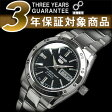 【逆輸入SEIKO 5】セイコー5 レディース自動巻き腕時計 ブラックダイアル ステンレスベルト SYMG39K1 【AYC】