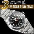 【日本製逆輸入SEIKO5】セイコー5 自動巻き&手巻き式レディース腕時計 ブラックダイアル ステンレスベルト SYMH29J1