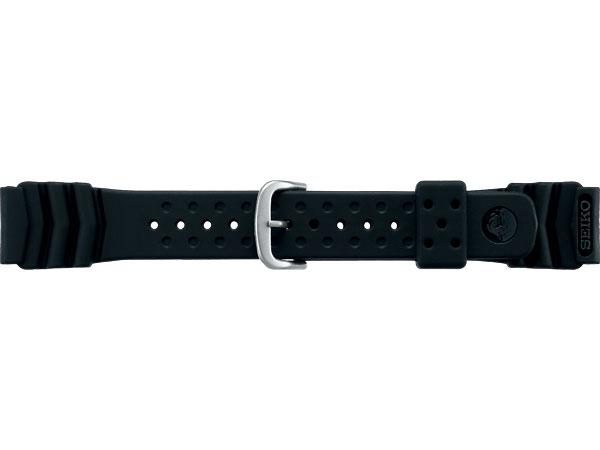 【SEIKO BAND】20mm セイコー 替えベルト ウレタンベルト 紳士用 黒色 DB70BP【正規品】【返品不可】【ネコポス可】