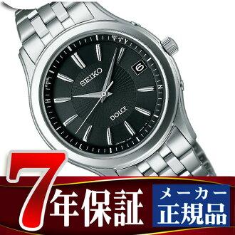 Seiko Dolce & exe line mens watch solar radio watch black SADZ125