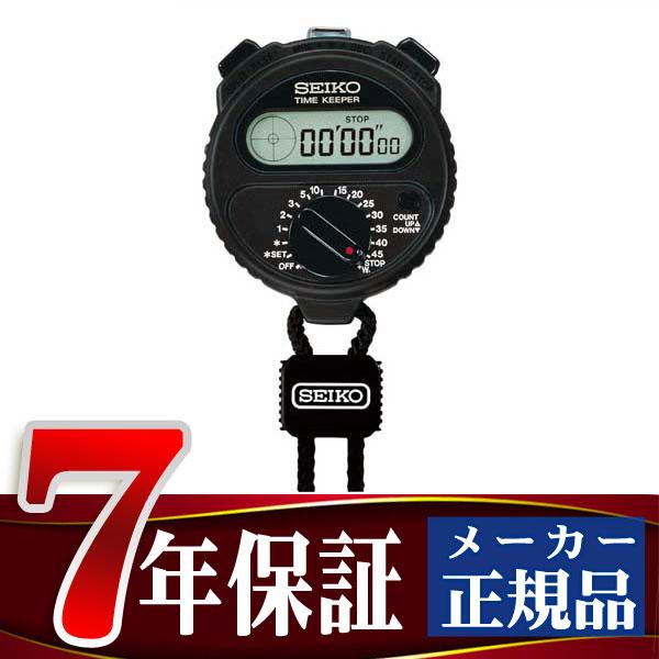 【SEIKO STOP WATCH】ストップウォッチ タイムキーパー ブラック SSBJ018