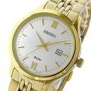 手錶 - セイコー SEIKO クラシック クオーツ レディース 腕時計 SUR704P1 ホワイトシルバー