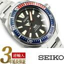 【逆輸入 SEIKO PROSPEX】セイコー プロスペックス サムライ PADIコレクション DIVER'S 200m 自動巻き 手巻き付き機械式 メンズ 腕時計 ダイバーズ ブラックダイアル SRPB99K1