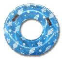 浮き輪 95cm ジャンボ浮き輪 取っ手付 空気入れ 浮輪 うきわ ドーナツ プール 海 海水浴 ウォータースライダー リゾート レジャー 夏 夏休み スポーツ アウトドア かわいい 大人 子供 大人用 子供用 送料無料 GAC001BL