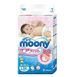 Moony尤妮佳瞬吸干爽纸尿裤L54片