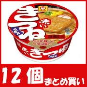 【まとめ買い】マルちゃん 赤いきつねうどん 東向け (96g×12個)