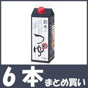【まとめ買い】創味のつゆ (500ml×6個)