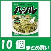 【まとめ買い】まぜるだけのスパゲッティソース バジル(48g×10個)