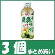 【まとめ買い】エバラ 浅漬けの素昆布だし (500ml×3個)