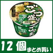 【まとめ買い】マルちゃん ごつ盛り コク豚骨ラーメン (115g×12個)