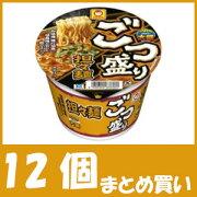【まとめ買い】マルちゃん ごつ盛り 担々麺 (133g×12個)