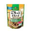 日清シスコ ごろっとグラノーラ3種のまるごと大豆糖質60%オ...