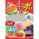 ライオン菓子 ポン!とでてくるフルーツ玉 キャンディー 140g×6個 (YB)