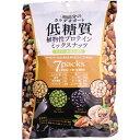 ショッピングナッツ 低糖質植物性プロテインミックスナッツ 23g×7袋 10個セット(1ケース)