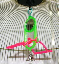 NPF ナチュラルペットフーズ エクセル 小鳥用品 ステップミラー(とり、おもちゃ)