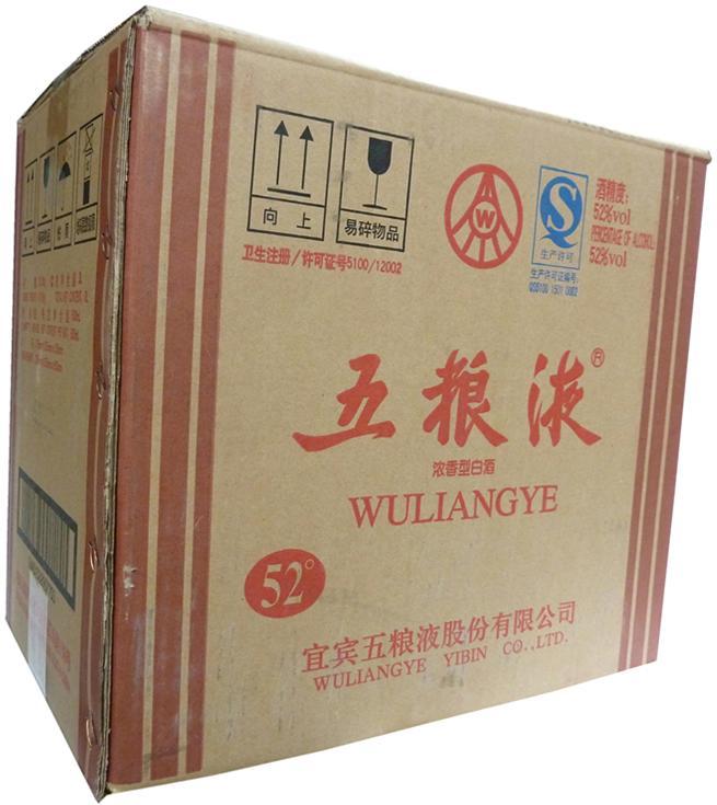 【中国酒】五粮液 五糧液(2010年製) 500ml 52度  6本入り