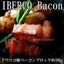 【お取り寄せ】イベリコ ベーコンブロック 約300g おつまみ 高級 ギフト イベリコ豚