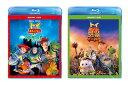 【送料無料】 「トイ・ストーリー・オブ・テラー!」+「トイ・ストーリー 謎の恐竜ワールド」 ブルーレイ+DVD 2タイトルセット