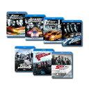 【送料無料】 ワイルド・スピード シリーズ全7作 Blu-rayセット