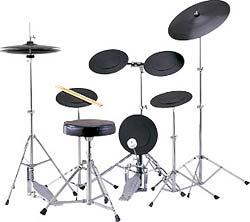 送料無料初心者向け楽器トレーニング用ドラムセット