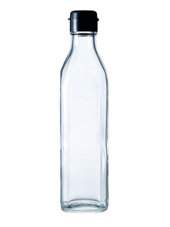 RoomClip商品情報 - ガラス瓶 ドレッシング瓶 SO-300角 290ml sauce bottle