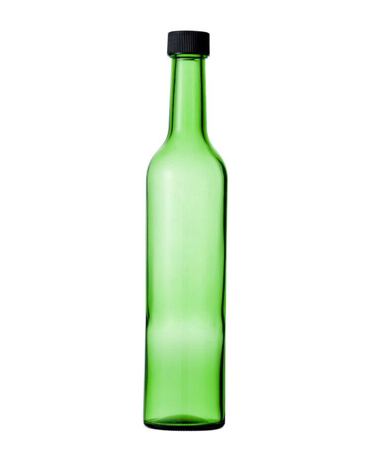 RoomClip商品情報 - ガラス瓶 酒瓶 ワイン瓶 スリムワイン500 グリーン 500ml wine bottle
