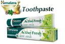 ヒマラヤ トゥースペイスト アクティブ フレッシュ80g 4本セット(歯磨き粉) Himalaya Active Fresh Toothpaste 『150時間限定! ポイント最大44倍!お買い物マラソン』
