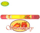 【3150日元以上】印度的香味!(棒)HEM STRAWBERRY/缝边 草莓香味[HEM STRAWBERRY/ヘム ストロベリー香]