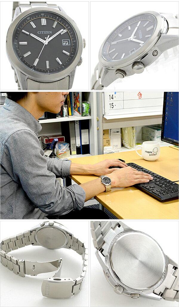 CITIZENCOLLECTION シチズンコレクション ソーラー電波 AS1050-58E [正規品] メンズ 腕時計 時計 [10年保証付][腕時計ケア用品 マルチクロス付][ギフト用ラッピング袋付]