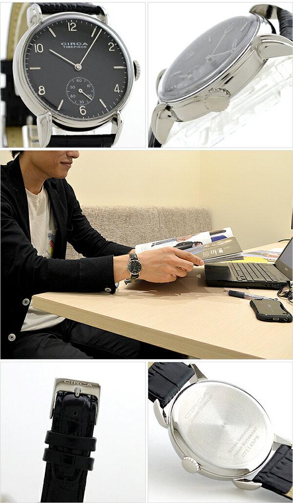 CIRCA [国内正規品] サーカ  CT114BK メンズ 腕時計 時計【ポイント11倍】 [送料無料][腕時計ケア用品 マルチクロス付][ギフト用ラッピング袋付][P_10]