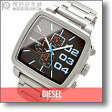 【ダブルダウンスクエア クロノグラフ】ディーゼル DIESEL DZ4301 メンズ 時計 腕時計