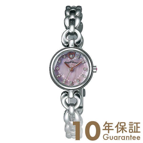 AngelHeart [国内正規品] エンジェルハート ブライトハート ピンクパール スワロフスキー BH21SP レディース 腕時計 時計【ポイント11倍】 [10年長期保証付][送料無料][腕時計ケア用品 マルチクロス付][ギフト用ラッピング袋付][P_10]