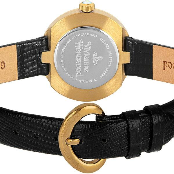 VivienneWestwood [海外輸入品] ヴィヴィアンウエストウッド クイーンズゲート VV150GDBK レディース 腕時計 時計【新作】 [3年長期保証付][送料無料][P_10]