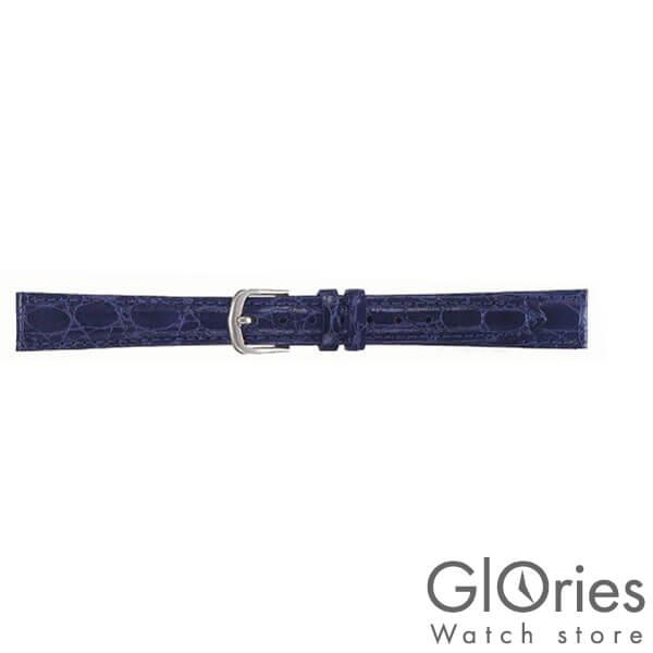 替えベルト セイコー(正規品) カラー牛革ワニ型押切身はっ水ステッチ付 13mm DX39A [正規品] メンズ&レディース 時計関連商品 時計